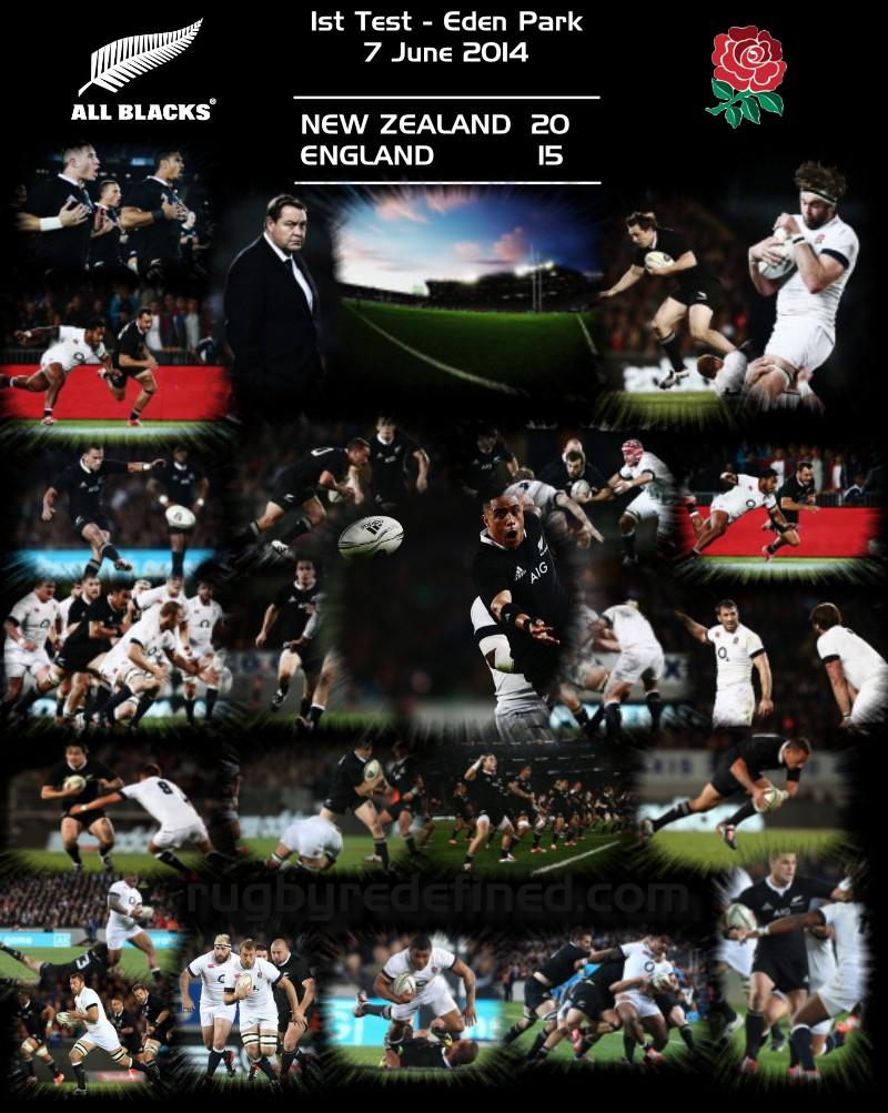 Result | New Zealand 20 v 15 England – 1st Test