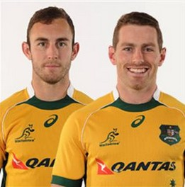 Nic White and Bernard Foley will play scrumhalf and flyhalf for the Wallabies.