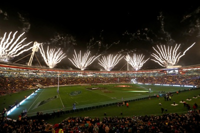 WELLINGTON, NEW ZEALAND - JUNE 18: A generql view during the International Test match between the New Zealand All Blacks and Wales at Westpac Stadium on June 18, 2016 in Wellington, New Zealand. (Photo by Phil Walter/Getty Images)