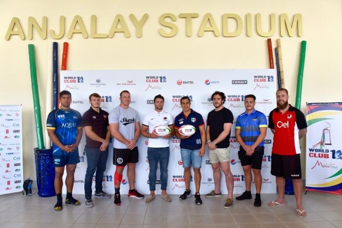 World Club Rugby 10's Press Converence Mauritius at Anjalay Stadium on 16 June 2016 ©Christiaan Kotze/SASPA